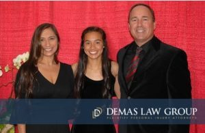 Winner of Demas Law Group Scholarship