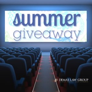 Summer Giveaway from Demas Law Group