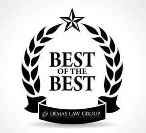 Best of the Best Award Demas Law Group