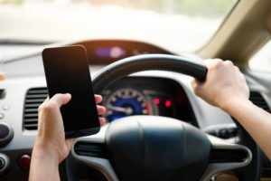 Car Accidents caused by Social Media