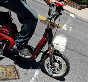 electric scooter accident