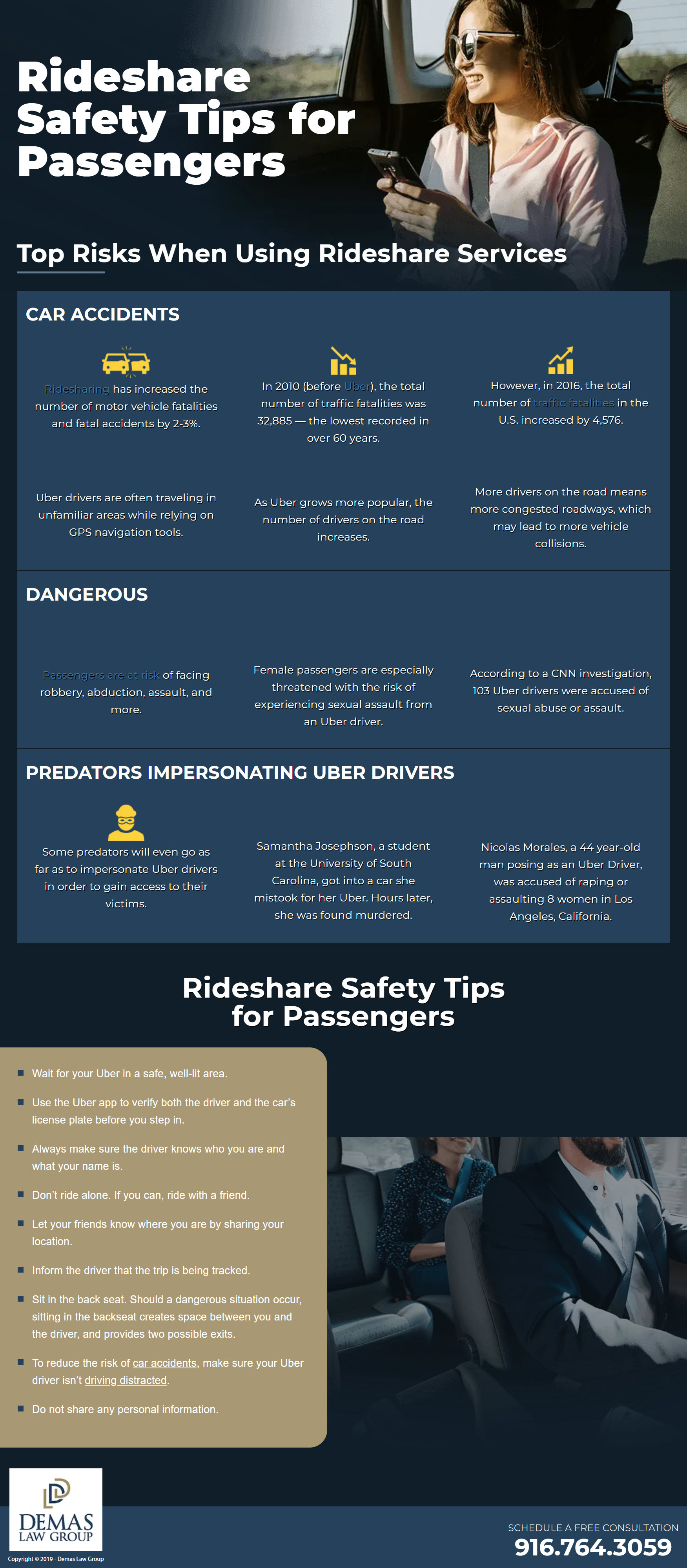 Rideshare Safety Tips for Passengers