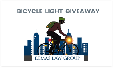 bicycle light giveaway